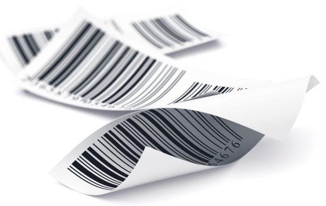 Barcodestickers: deze kunnen gedrukt worden met thermisch printen.