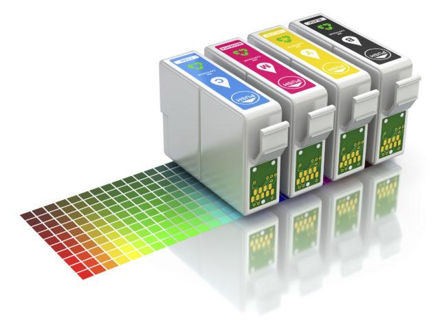 CMYK zijn de vier kleuren die veel gebruikt worden bij drukwerk.