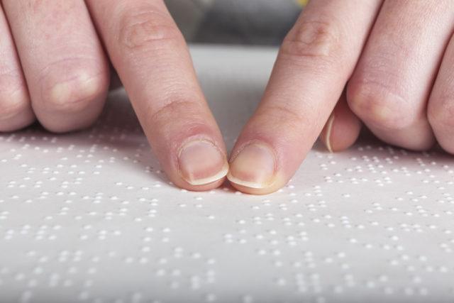 Braille is een van de tehcnieken die besproken wordt bij druktechnieken combineren.